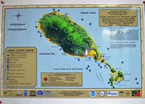 Tsunami Map (St. Kitts)