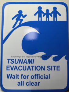 Tsunami Signs to be erected Island wide (St.Kitts & Nevis)
