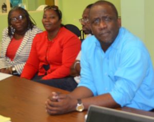 Participants from St. Kitts and Nevis Disaster Management offices